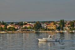 Croatia, picturesque city of Zadar in Balkan Royalty Free Stock Images