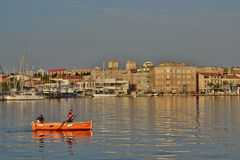 Croatia, picturesque city of Zadar in Balkan Royalty Free Stock Photography