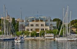 Croatia, picturesque city of Zadar in Balkan Royalty Free Stock Photo
