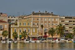 Croatia, picturesque city of Zadar in Balkan Stock Photo