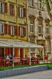 Croatia, picturesque city of Zadar in Balkan Stock Image