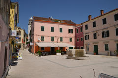 Croatia, picturesque and touristy village of Skradin Royalty Free Stock Images