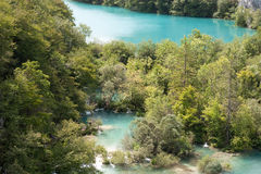 Croatia, Plitvice lakes Stock Photography