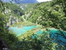 Croatia plitvice lakes national park Stock Image