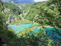 Croatia plitvice lakes national park Stock Images