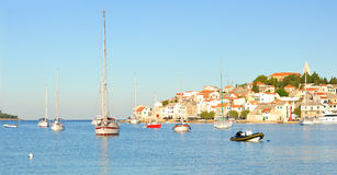 Croatia Primosten Stock Photography