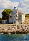 Croatia, Prisnjak Lighthouse on an islet of Murter archipelago Stock Photos