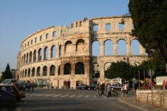 Croatia-Pula royalty free stock photography