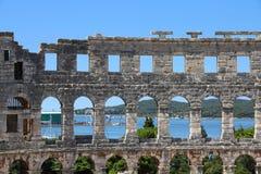 Croatia - Pula Royalty Free Stock Photo