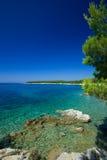 Croatia - Rab fotografia de stock