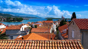 Croatia , Rab City Royalty Free Stock Photo