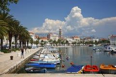 Croatia rachado Imagens de Stock
