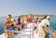 Croatia rest tour Royalty Free Stock Photo