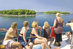 Croatia rest tour Stock Photos