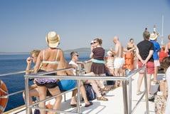 Croatia rest tour Royalty Free Stock Image