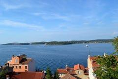 croatia rijeka Royaltyfria Foton