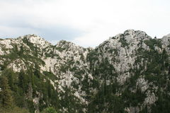 Croatia / Rocky Mountains Royalty Free Stock Photography