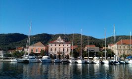 Croatia sailing Royalty Free Stock Images
