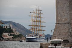 Croatia ship Royalty Free Stock Photos