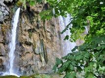 croatia siklawa Zdjęcie Stock