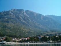 croatia sjösida Royaltyfri Bild