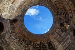 Croatia split cupola ancient Royalty Free Stock Images