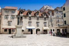 Croatia - Split in Dalmatia. Old town Royalty Free Stock Photography