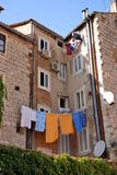 Croatia - Split houses on the city Stock Images