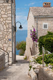 Croatia street Stock Photo