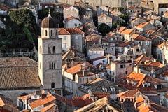 Croatia: Tejados de Dubrovnik Foto de archivo