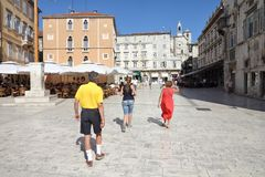 Croatia tourist Stock Photography