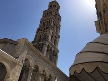 Croatia. A tower in Dubrovnik Croatia Royalty Free Stock Image