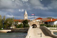 Croatia town Stock Photo