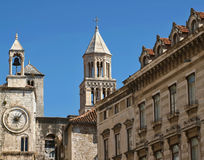 Croatia town Split Royalty Free Stock Photo