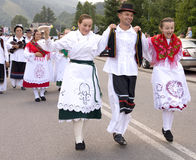 Croatia traditional folk group Stock Images