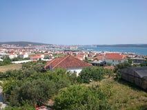 croatia trogir fotografering för bildbyråer