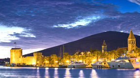 Croatia, Trogir by night Royalty Free Stock Image