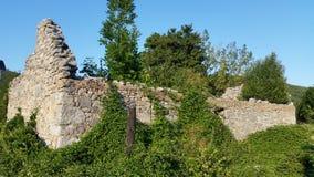Croatia Udbina-abandoned house royalty free stock images