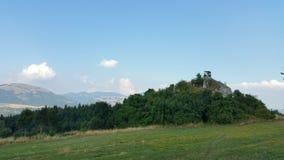 Croatia Udbina watchtowers Royalty Free Stock Photo
