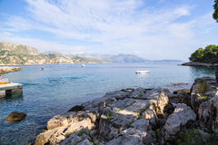 Croatia. View from Lokrum island Royalty Free Stock Photos