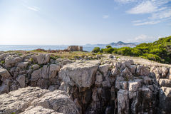 Croatia. View from Lokrum island Stock Photo