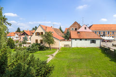 Croatia. View of Varaždin Stock Photos