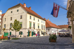 Croatia. View of Varaždin Stock Image