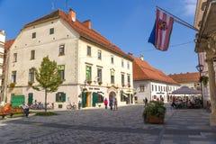 Croatia. View of Varaždin Stock Image