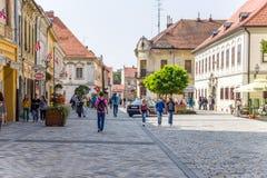 Croatia. View of Varaždin Royalty Free Stock Photos