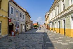 Croatia. View of Varaždin Stock Photos