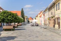 Croatia. View of Varaždin Stock Images
