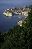 croatia widok starzy grodzcy Dubrovnik Zdjęcia Stock