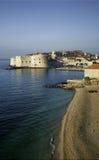 croatia widok starzy grodzcy Dubrovnik Fotografia Royalty Free