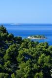 croatia wyspy murter Zdjęcie Royalty Free